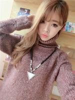 2015 Women Sweater New Arrival Female Loose Long Coat Women S Casual Wool Promotion Special Offer