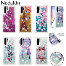 Liquid Sand Painted Soft Back Case for Huawei