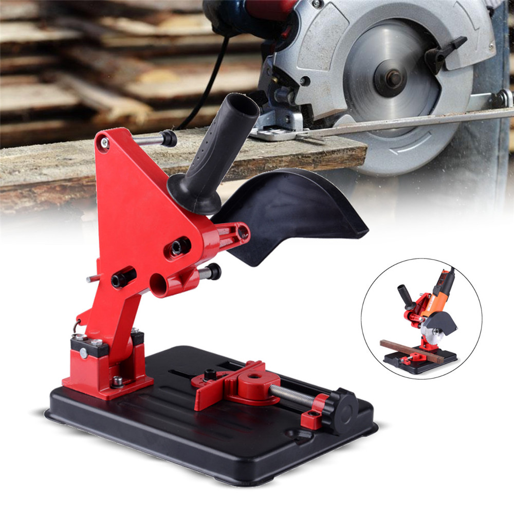 Angle Grinder Stand Angle Grinder Bracket Holder Support for 100-125 Angle Grinder DIY Cutting Stand Power Tools Accessories