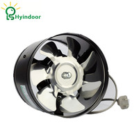 Hydroponic 6 Inch Air Duct Booster Fan Blower