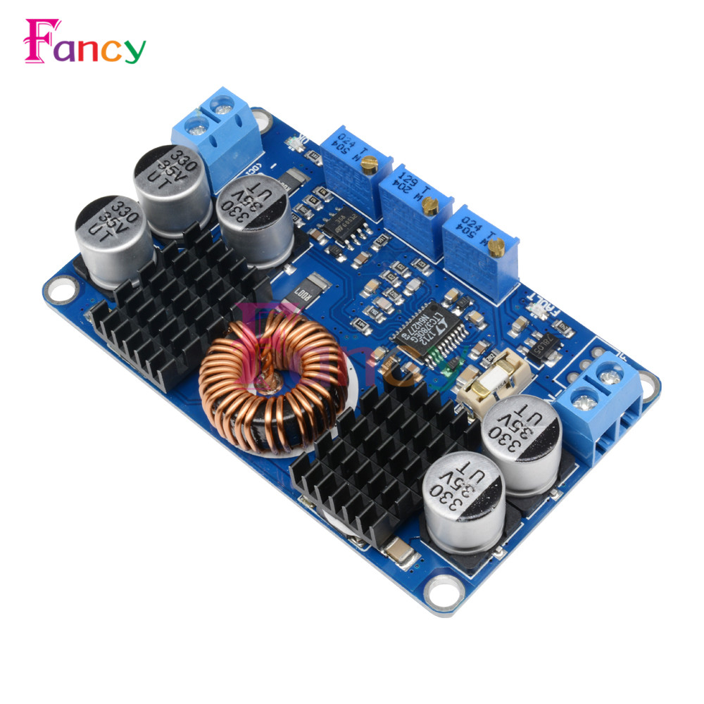 LTC3780 DC-DC 5V-32V to 1V-30V 10A Automatic Step Up Down Regulator Charging Module Power supply module 1pc ltc3780 constant voltage current power supply step up down automatic pressure lifting module dc5 32v