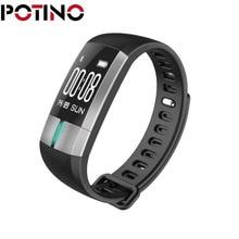 Potino G20 ЭКГ мониторинг Смарт Браслет Фитнес трекер Приборы для измерения артериального давления браслет pulsometro для IOS телефона Android