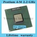 Пожизненная гарантия Pentium 4-M 2.2 ГГц ноутбук процессоры ноутбук процессора 400 мГц компьютер оригинальной аутентичной