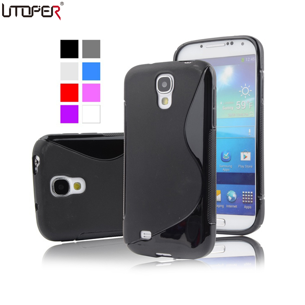 s4 mini s line anti skid soft tpu gel skin case for. Black Bedroom Furniture Sets. Home Design Ideas