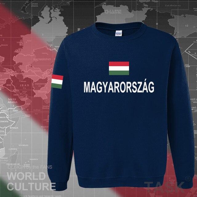 Hungary Hungarian hoodies men sweatshirt sweat new hip hop streetwear tracksuit nation footballer sporting country 2017 HUN HU 2
