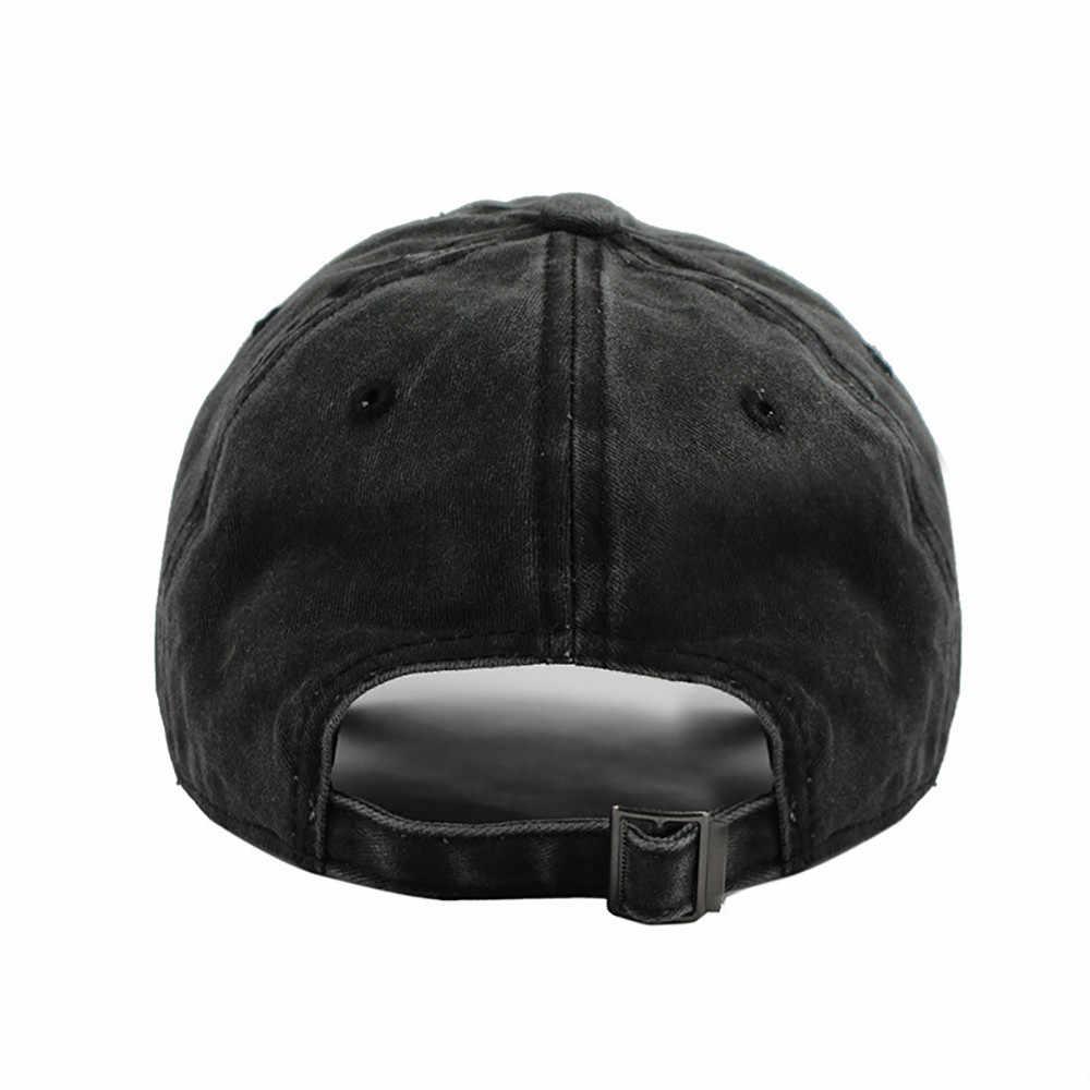 CHAMSGEND قبعة بيسبول النمط الكلاسيكي جميع القطن صنع قابل للتعديل قبعة الرجال القبعات للنساء قبعة منخفضة