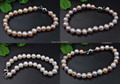 wholesale 4 strands mix freshwater pearl bracelets free shipping