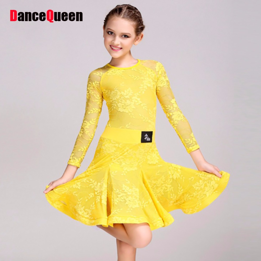 Popular Girls Ballroom Dresses-Buy Cheap Girls Ballroom Dresses ...