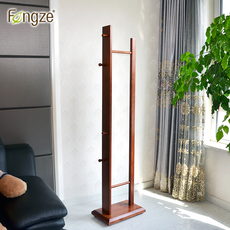 FengZe Home Furnishing FZ903 Modern Clothes Hanger Hats Rack Solid Wood Living Standing Hanger  Scarves Hats Bags Clothes Shelf fengze furnishing fz821 modern solid wood shoes storage multifunction solid wood flower rack standing plants display cabine