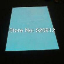 Big size 1 x2M white EL Panel El Sheet El Pad Back Light Display Backlight Lamp with AC220V inverter Free shipping