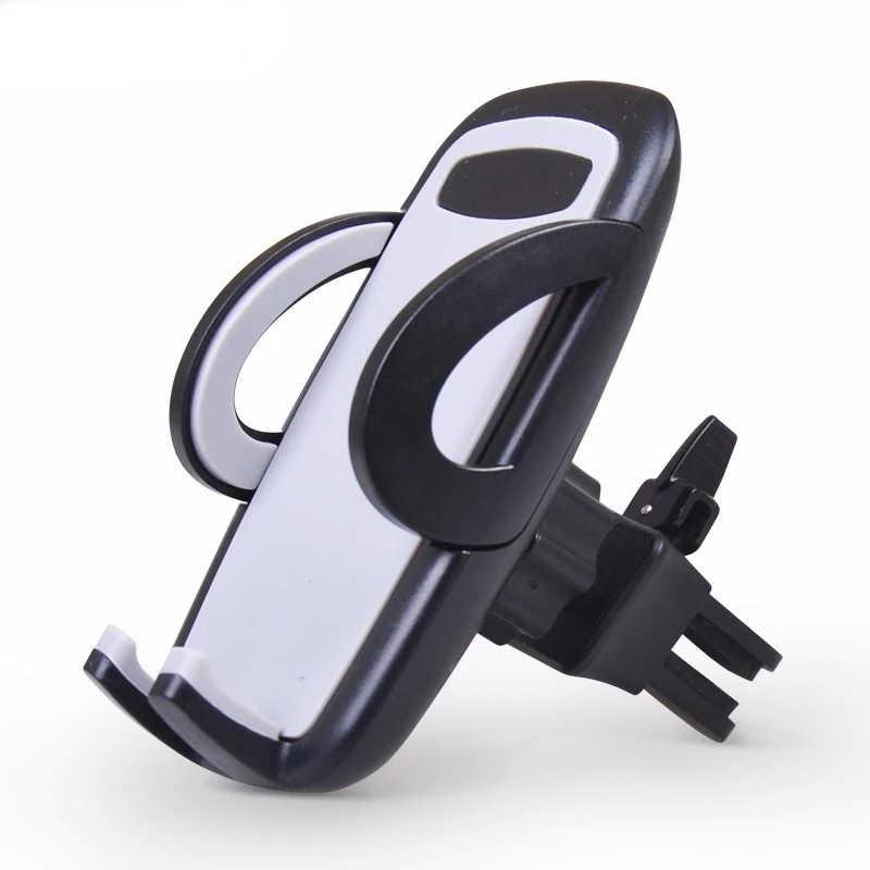 ユニバーサルスマートフォンホルダースタンドカーエアコンベントマウントサポート車の携帯電話の付属品 iphone × 7 6s xiaomi redmi note 5