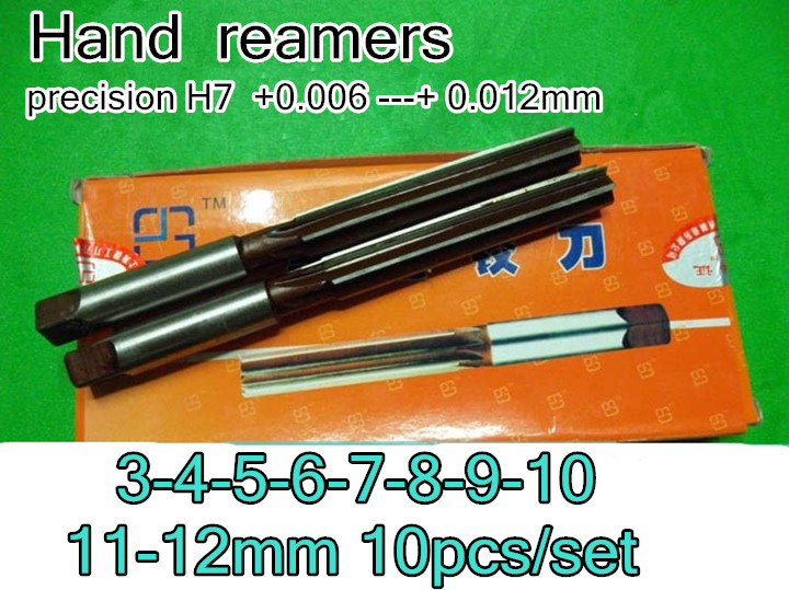 New 1pc 2.5mm Cutting Dia Straight Shank 6 Flutes H8 HSS Hand Reamer Reaming