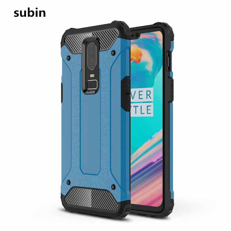 <font><b>OnePlus</b></font> <font><b>6</b></font> case cover funda One Plus <font><b>6</b></font> New Luxury Shockproof bumper protect For <font><b>OnePlus</b></font> <font><b>6</b></font> <font><b>smartphone</b></font> case back cover coque image