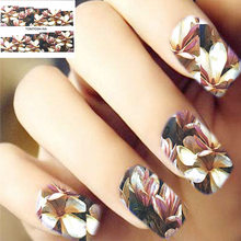 Tomtosh 2017 new 1PCS brilliant decals nail stickers watercolor stickers nail stickers(China)