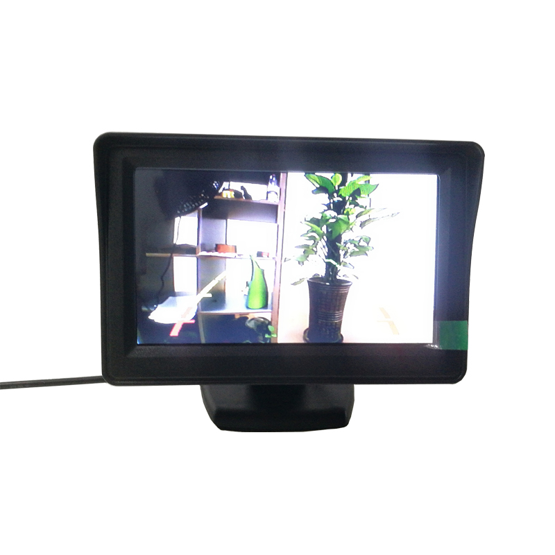 5 inch after connect backup camera
