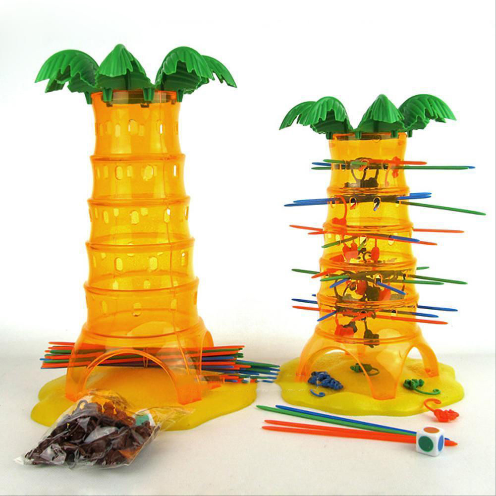 New Childrens Educational Toys Dump Monkey Falling Tumbling Monkeys Game Kids Birthday Gifts Family Interaction Game Toys