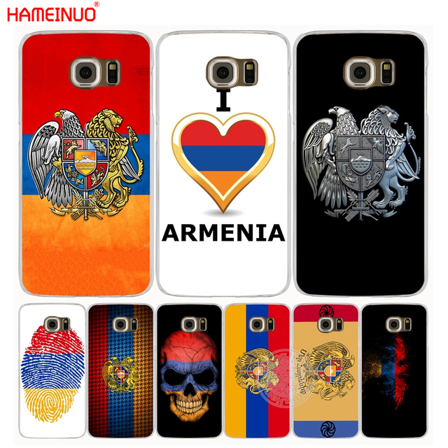 Hameinuo Armenia Flag Cell Phone Case Cover For Samsung Galaxy S7