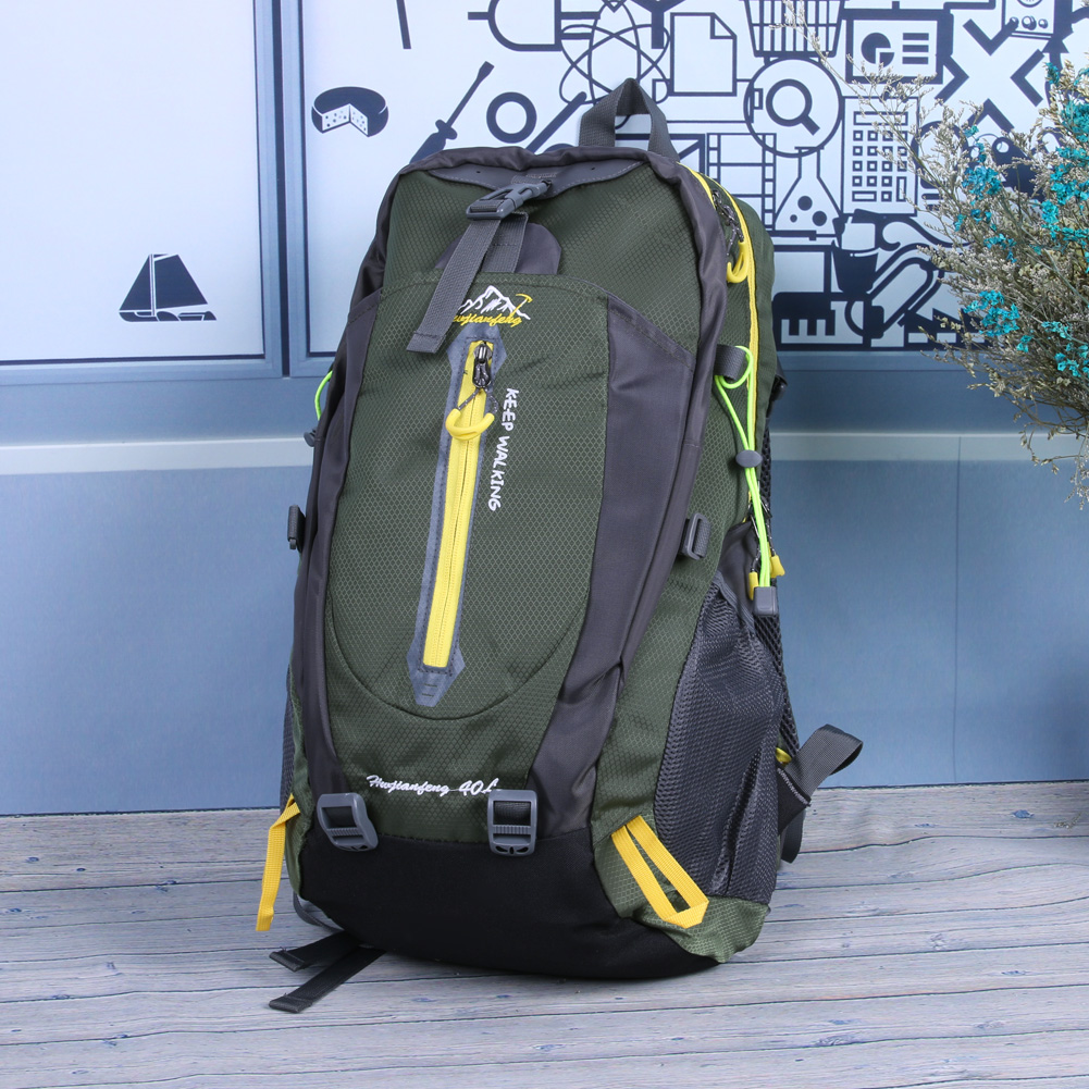 Unisex Large Waterproof Outdoor Bags Hiking Camping Climbing Hiking Traveling Backpack Sports Bag Different Colors Supplies 40 L