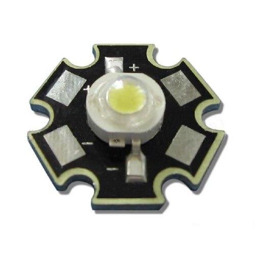 10 шт./лот 20 мм Star База 1 Вт холодный белый 90 ~ 100lm 6000 К ~ 6500 К 3.2 В ~ 3.4 В  ...