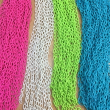 7MM/w 10Strands=4m Colorful Acrylic Plastic Chain Jewelry Ch