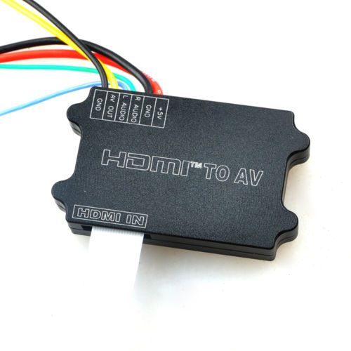 JMT Universal Aerial FPV HDMI to AV Conversion Card Compatible with GH3 4 5D NEX A7