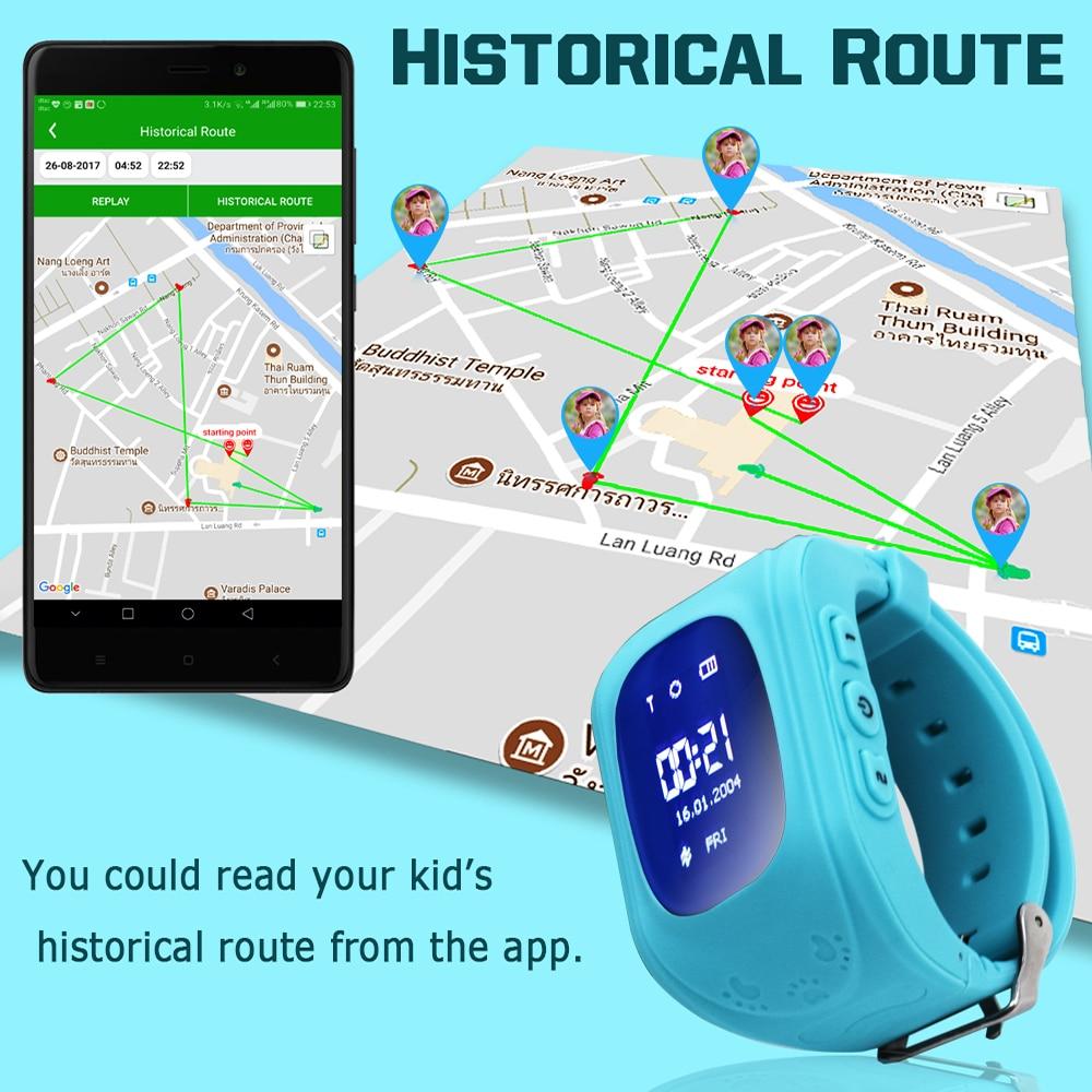 Heißer Verkauf Baby Smart Uhr GPS Kinder Smartwatch Kinder Q50 OLED - Intelligente Elektronik - Foto 4