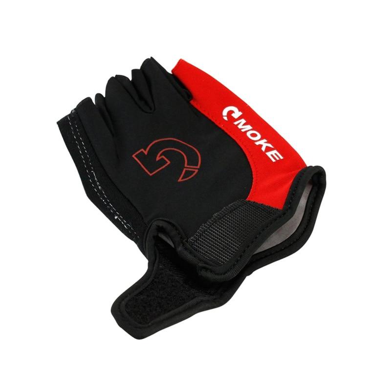 Kolesarske rokavice Moške kolesarske športe Polovica prsta - Kolesarjenje - Fotografija 4