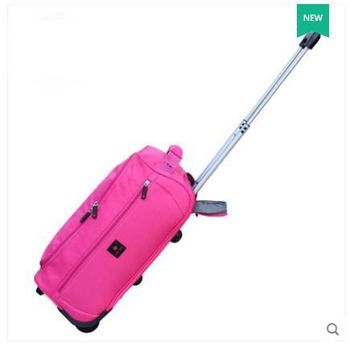 1ea5aadefd12 18 дюймов 20 дюймов 22 дюймов Для женщин багаж сумка тележка Сумка на  колесах Для женщин cabin rolling чемодан багажа футляр сумка