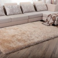 WINLIFE Soild Color Shaggy Carpets European Style Decorating Soft Rugs Graceful Anti-Skid Living Room/Bedroom/Hotel Mats