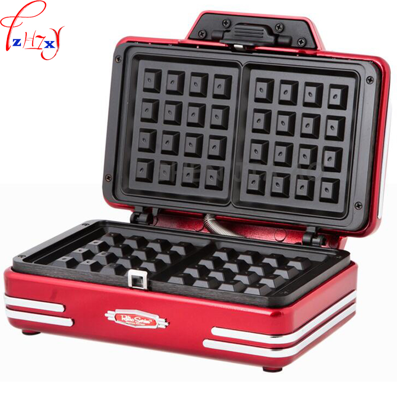 electric home mini waffle machine DIY breakfast waffle machine baking tools baked cake machine 220V 750W 1pc avail american baked cake flavor e liquid