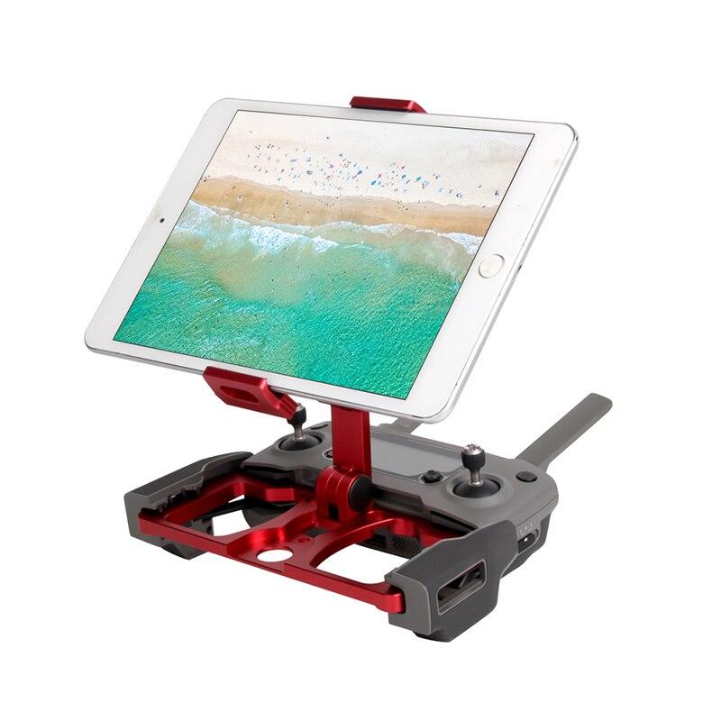 5.5 7.9 9.7 pouce téléphone support de tablette en alliage d'aluminium support pince pour dji mavic 2 pro zoom étincelle mavic pro 1 air mavic min drone - 3