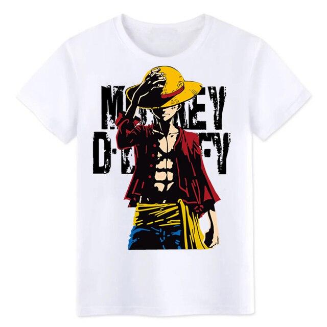 One Piece Luffy Summer T shirt