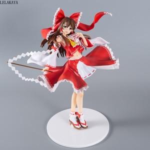 Image 2 - Nova chegada 42cm touhou projeto sexy menina hakurei reimu liberando b estilo 1/4 escala pintado anime pvc figura de ação modelo boneca de brinquedo