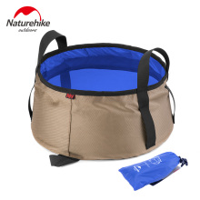 NatureHike 10L Outdoor Round Folding Water Washbasin Portable Camping Picnic Oxford Wash Bucket Bag Ultralight Tool