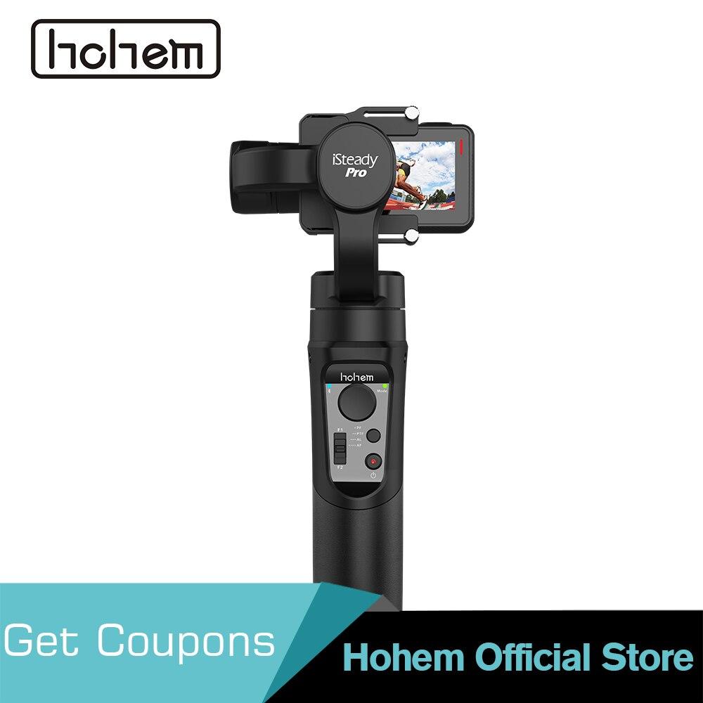 Hohem iSteady Pro Cardan 3-Axes De Poche Stabilisateur pour GoPro Hero 7/6/5/4/ 3 pour Sony RX0 pour SJCAM YI comme pour le Festival Cadeau
