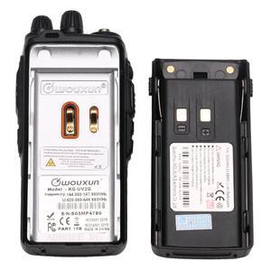 Image 4 - Wouxun KG UV2Q 8 W haute puissance 7 bandes, y compris bande dair répéteur de bande croisée talkie walkie mise à niveau KG UV9D Plus Radio jambon