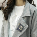B2 CC Сымитированная Перла Ручной Мода Известный Люксовый Бренд Дизайнер Ювелирных Изделий 2016 Новый Брошь Булавки Броши Для Женщин Лацкане