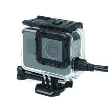 Новые прозрачные открытые по бокам Защитный чехол с полые Обложка для GoPro Hero 5 действий Камера для Go Pro Аксессуары