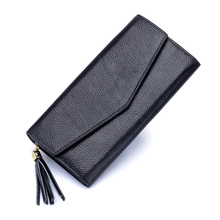 цены Carteira Feminina New Arrivals Long European And American Tassel Women Wallets 2018 Fashion Envelope Cover Style Ladies Purses