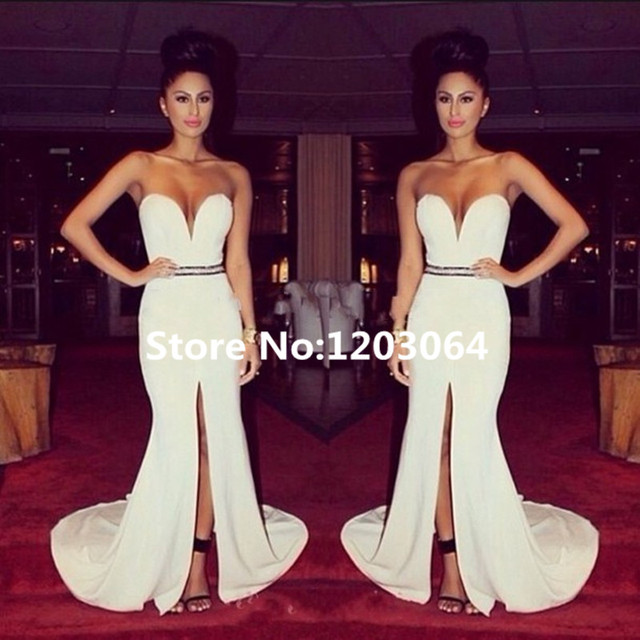 Vestidos de noche sexis y elegantes largos