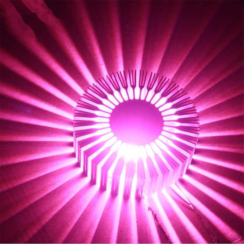 3 w led girassol luz de teto 04