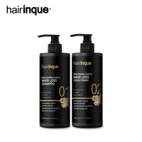 Hairinque300ml Macadamia Plenty Hair loss Set Useful Anti Hair Loss Improve Hair Quality Natural Herbal Ginger Extract Hair care