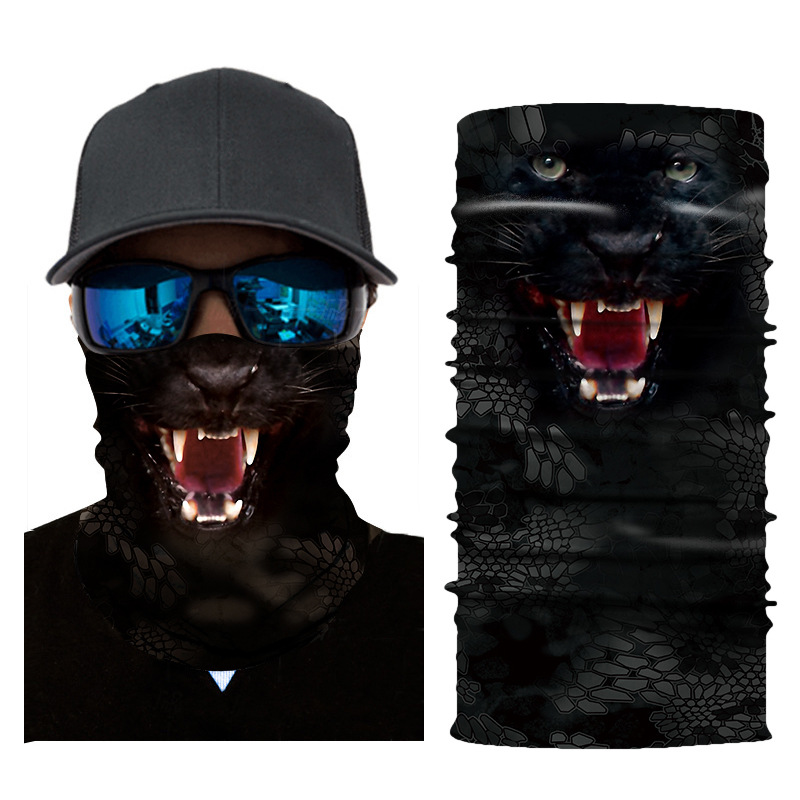3D Animal Seamless Balaclava Scarf 3