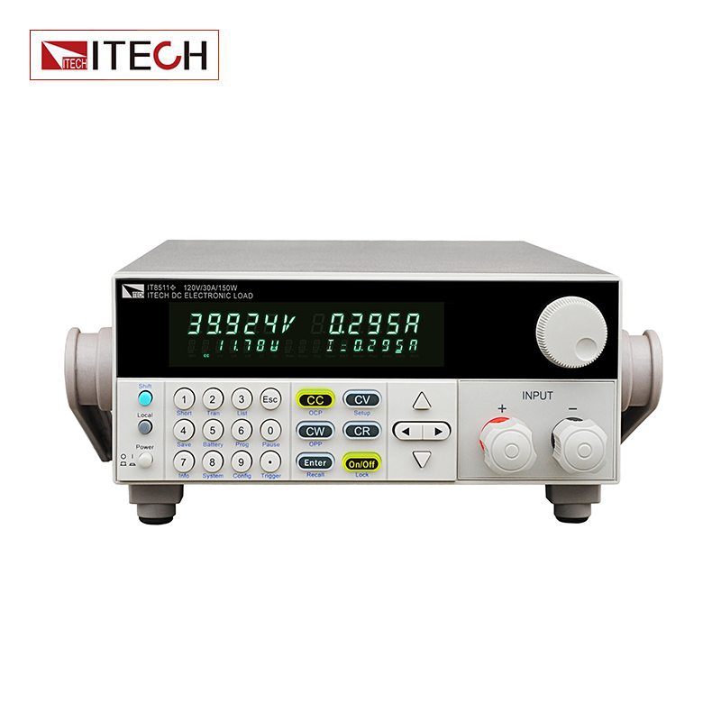 ITECH IT8511 + 120 V/30A/150 W charge électronique Programmable monocanal charge électronique cc
