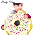 Cute Children Round Donut Cushion Appease Travel Pillow Hot Sale Sweet Sleeping Pillow For Baby Children's Decoration tyh-20476