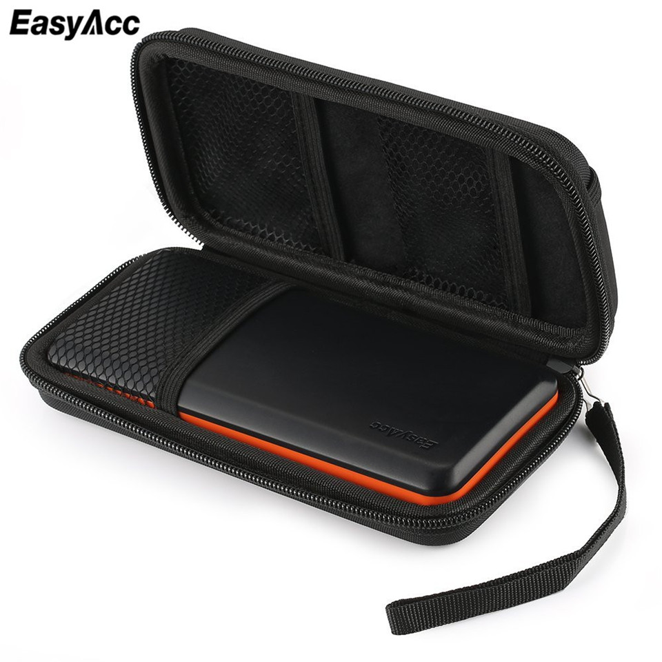 Easyacc Power bank EVA Pouch Case for Anker Aukey Rock PISEN Baseus External Battery Case Portable Customized Pouch Travel