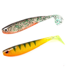 Jig Swimming Shad Fishing Tackle 11.5cm 12g Artificial Bait Lively Worm Soft Lures Silicone Pesca Wobblers