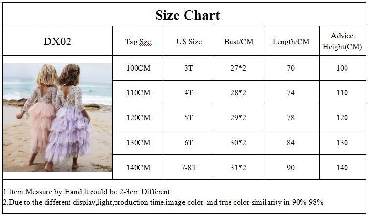 DX02-Size Chart