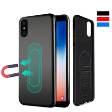 Metal Plate Car Holder Magnetic Case for iPhone Xs Max Xr X 6 6S 7 8Plus Magnet Soft Silicone Case for Huawei P30 Pro Mate20 Pro