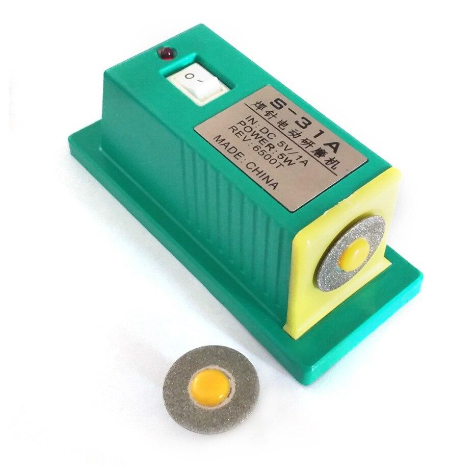 S 31A Mini electric grinding machine battery spot welder needle